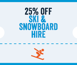 25% Off Ski Hire in Canillo